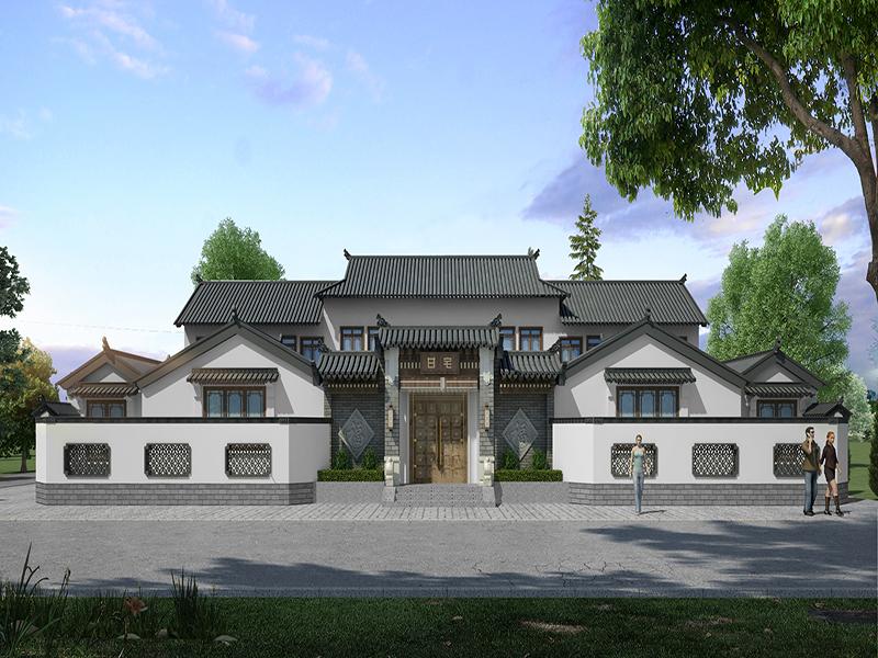 眉山中式自建房装饰工程案例