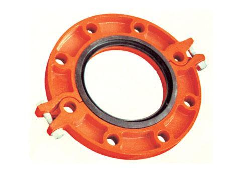 沟槽管件卡箍的压槽工艺的介绍
