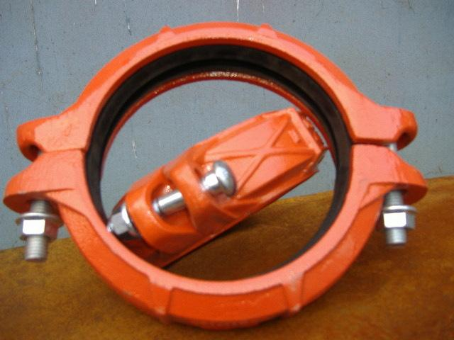 铸造式沟槽管件