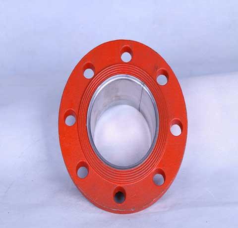 内衬不锈钢沟槽管件