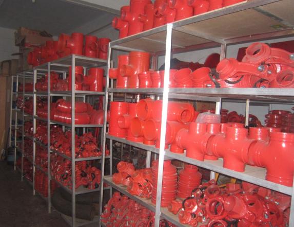 沟槽消防管件型号