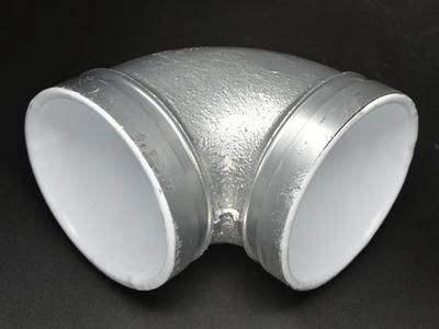 热镀锌衬塑沟槽管件