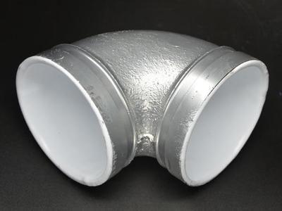 给水镀锌衬塑沟槽管件