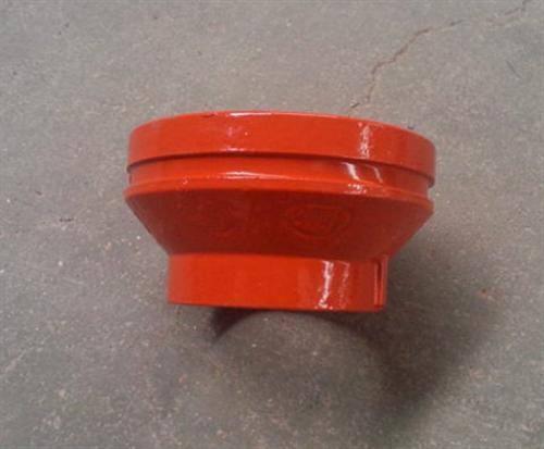 给水镀锌衬塑沟槽管件图片