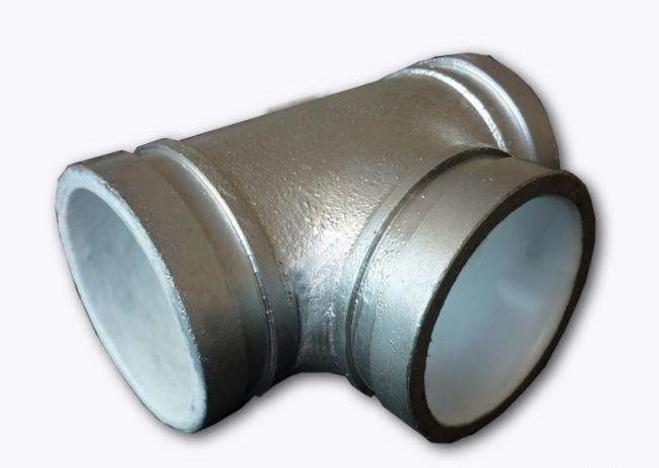 给水镀锌衬塑沟槽管件价格