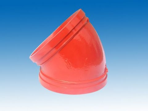 热水用衬塑沟槽管件价格