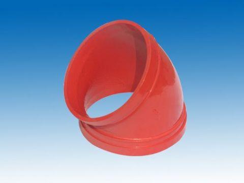 热水用衬塑沟槽管件供应商