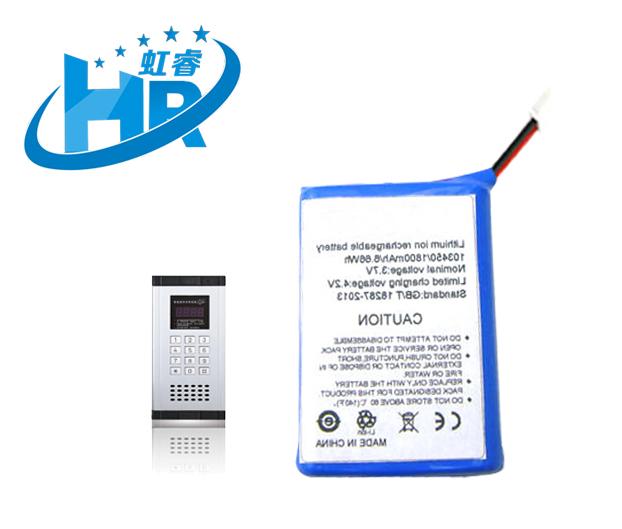 磷酸铁锂电池 3.7V 1800mAh