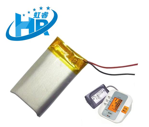 聚合物锂电池 血压计可穿戴设备  3.7V  500mAh