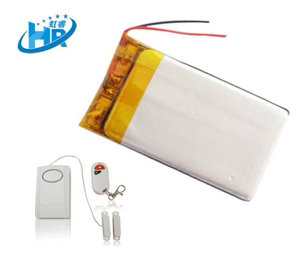 聚合物  微型摄像机锂电池 监控摄像机锂电池  3.7V 300mAh