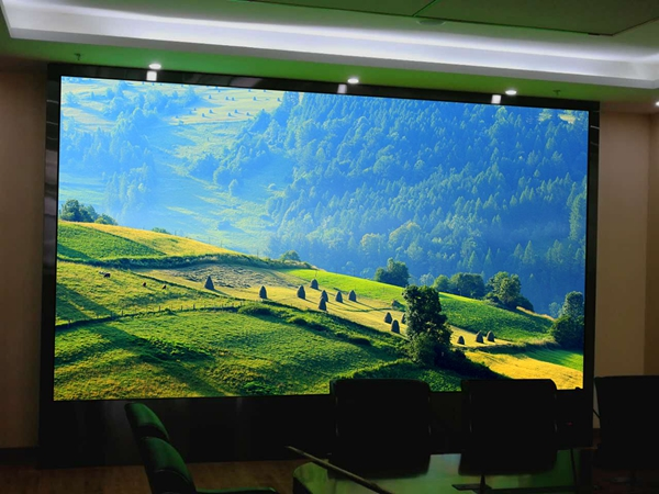 LED电子显示屏可以应用到安防监控中
