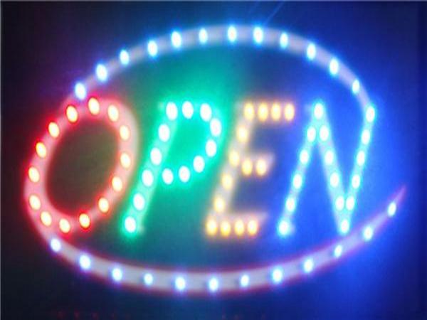 绵阳酒吧安装广告双色LED显示屏案例