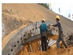 四川隧道管棚施工工序