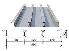 YX65-170-510型闭口楼承板