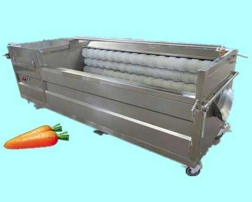 气泡蔬菜清洗机流水线的先进设计介绍