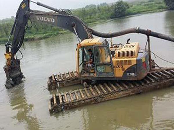 河道清淤领域