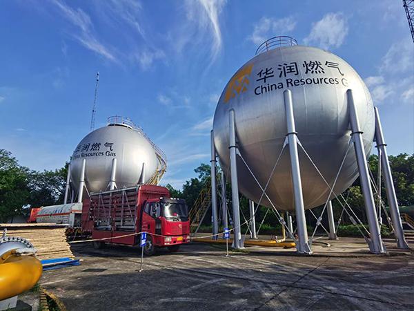华润燃气管道氮气置换工程施工案例
