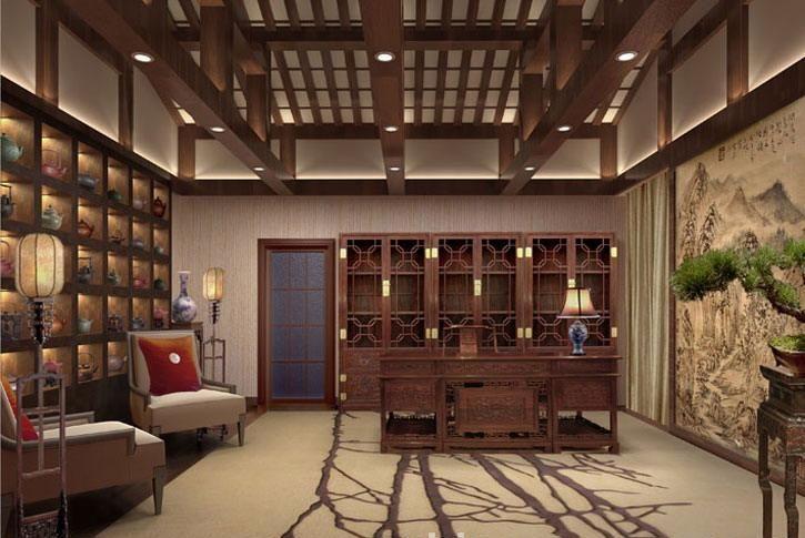 新东家中式茶楼设计图库
