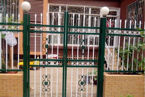庭院锌钢大门