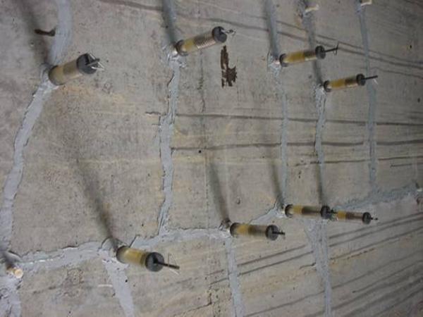 混凝土地面裂缝修补
