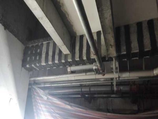 綿陽市東辰宜家美鋼板加固案例
