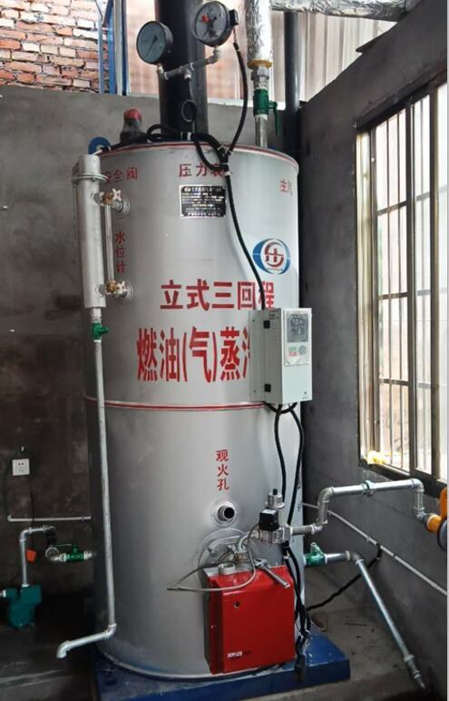 眉山燃气锅炉运行前试验