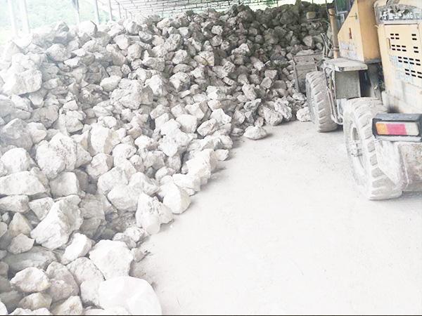 石英砂石料