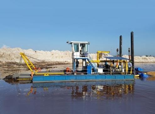 绞吸式挖泥船-zt 05
