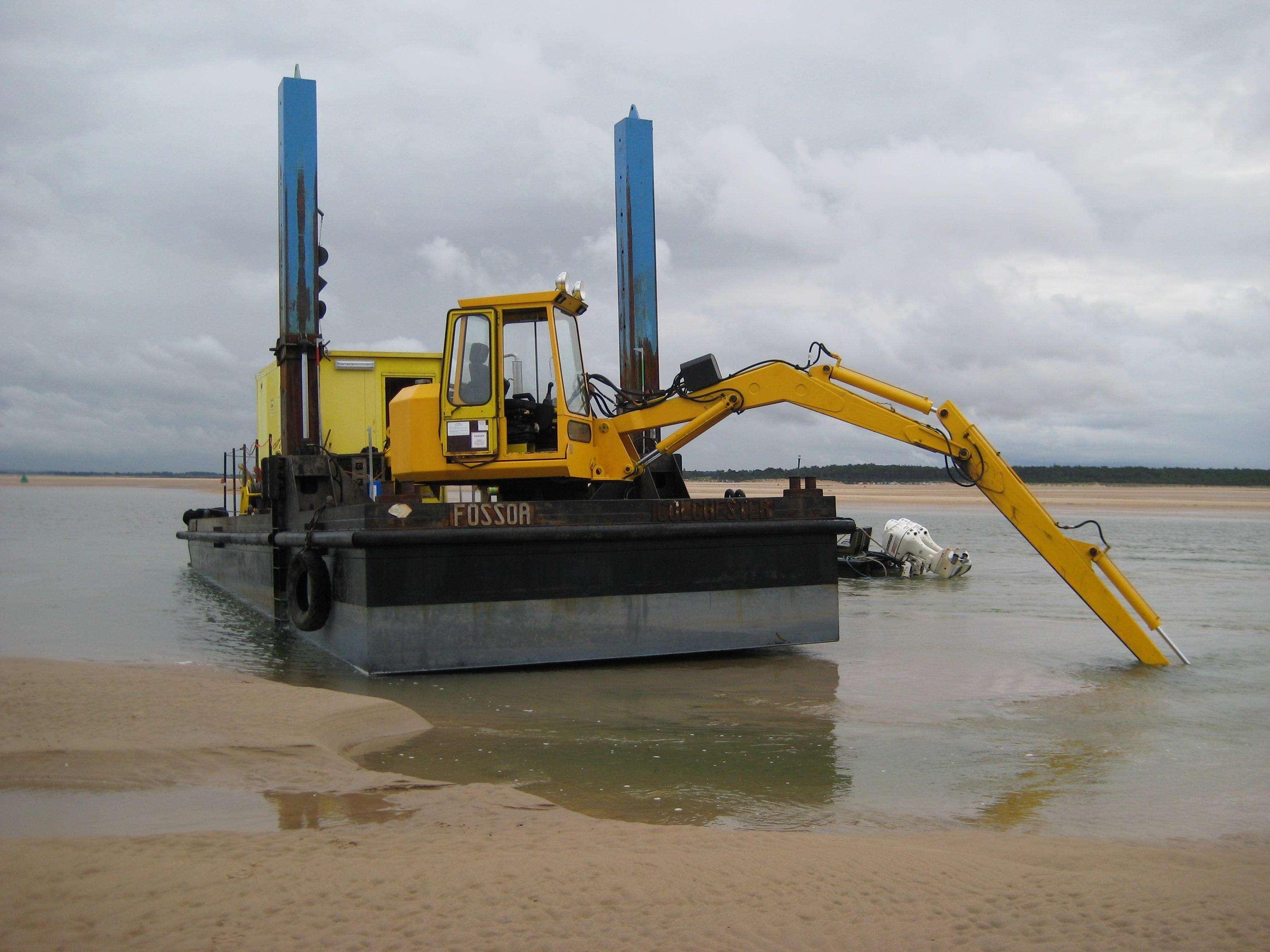 绞吸式挖泥船-zt 01