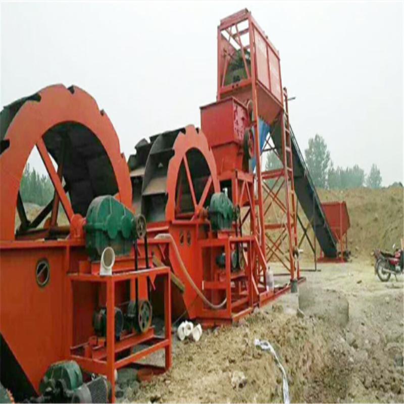 洗砂|沙机设备系列的结构特点
