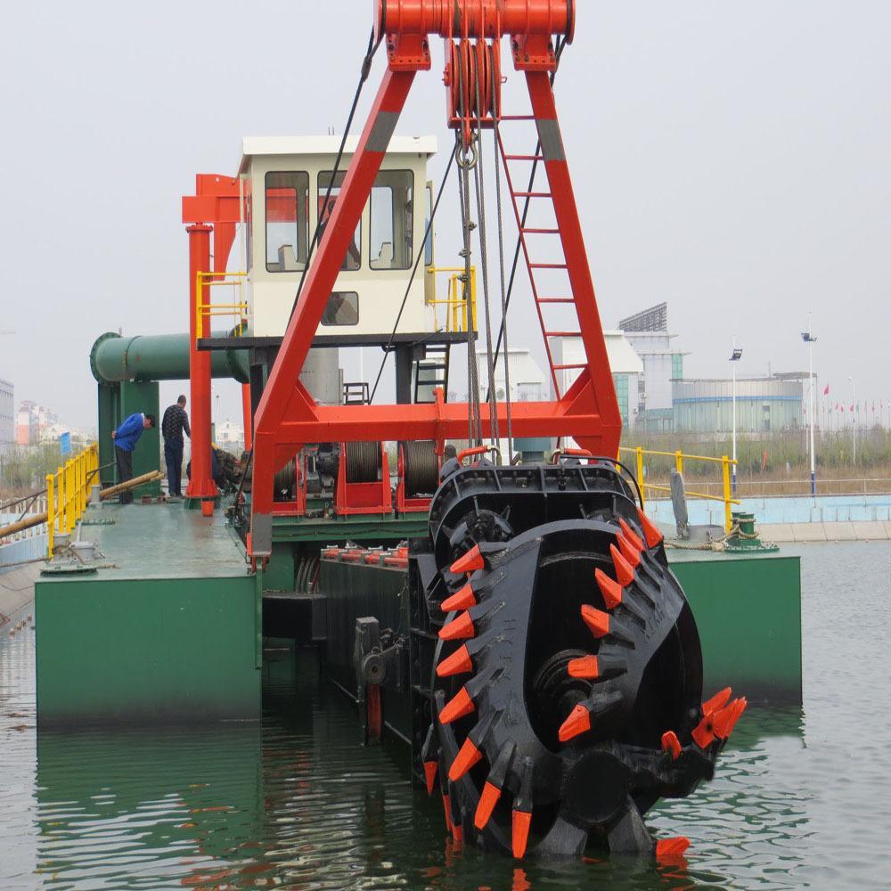 淺談絞吸式挖泥船的核心裝置