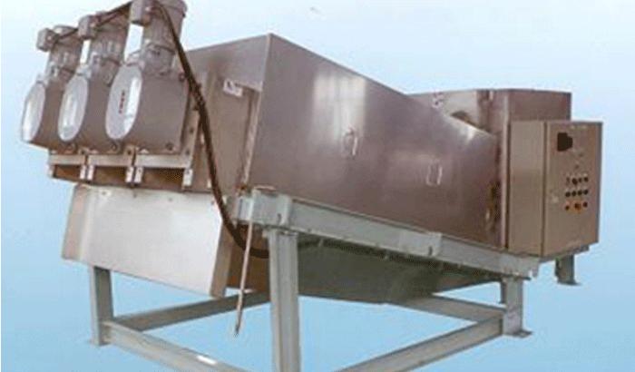 疊旋擠壓雙向脫水機