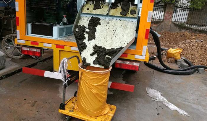 移動式車載污泥脫水機