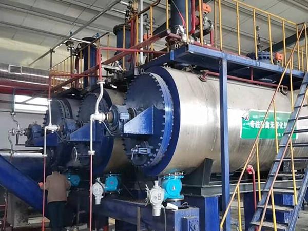 5吨畜禽处理干化机(带悬液分离)