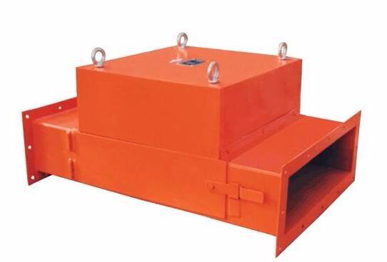 RCYF系列管道式永磁除铁器
