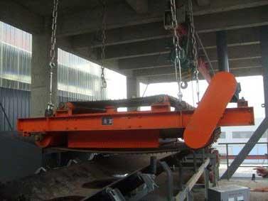 悬挂式除铁器安装后的四大检查工作