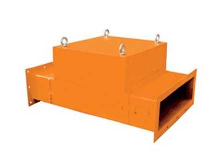 RCDB干式电磁除铁器结构原理