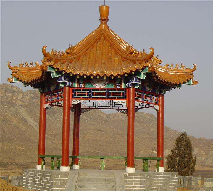 重庆古建凉亭