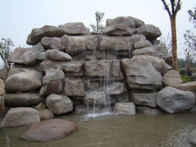 四川古建假山