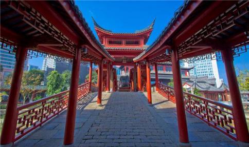 杭州古建走廊