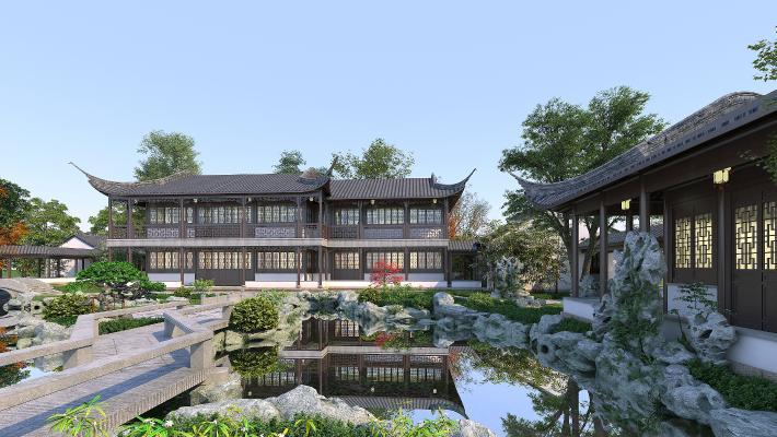 梧州/北海怎么组织园林建设和破除近似古建筑的形式与结构
