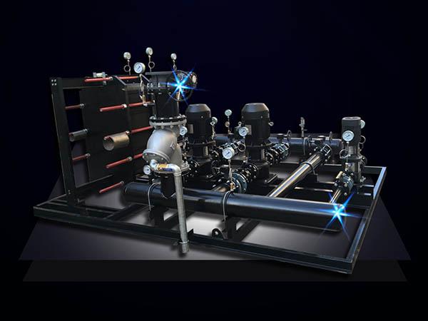 智能板式换热机组