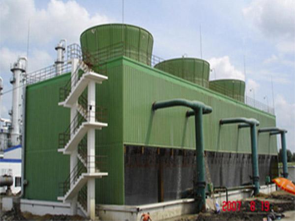 钢筋混凝土框架冷却塔