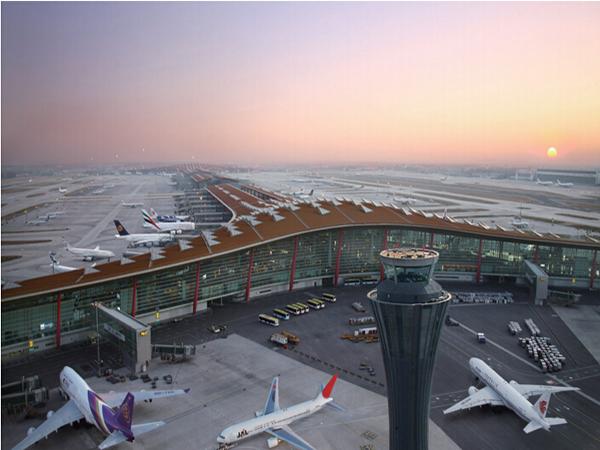 北京首都机场扩建工程
