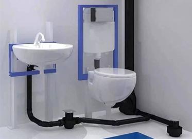 洗手间同层排水