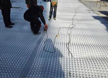 车库顶板排水施工