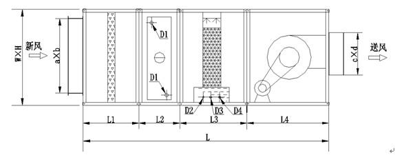 窗机空调电路图