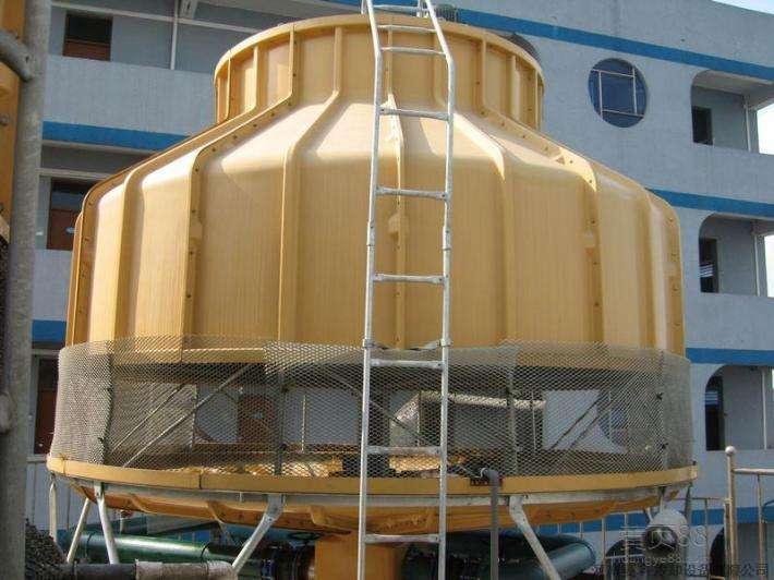圆形逆流式玻璃钢冷却塔厂