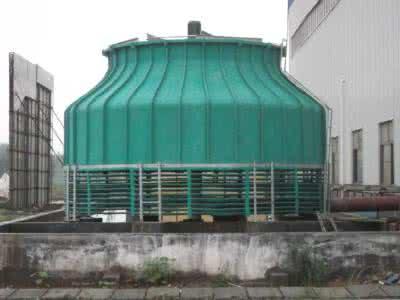 适合于工业设备降温的圆形玻璃钢冷却塔