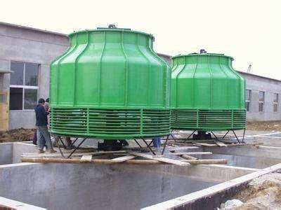 关于玻璃钢冷却塔选型及更换喷淋水的问题